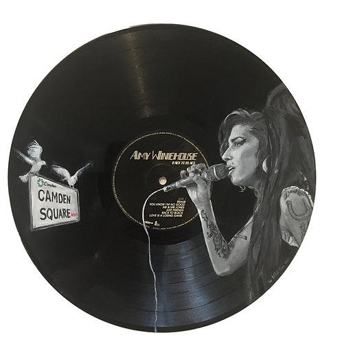 Amy Winehouse  - Vinyl Art