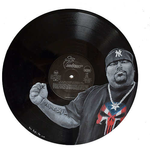 Big Pun - Vinyl Art