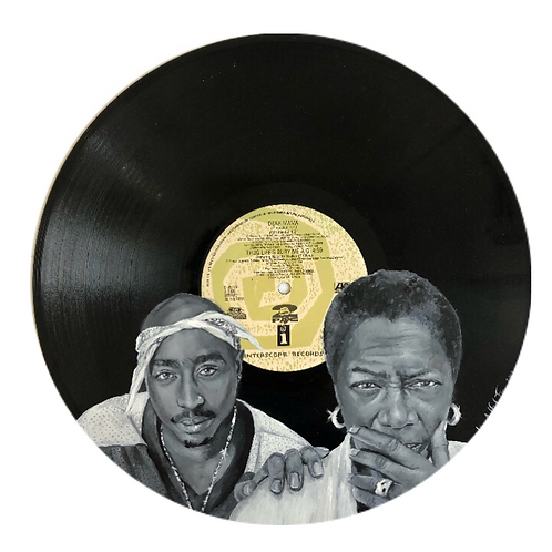 2Pac - Dear Mama - Vinyl Art