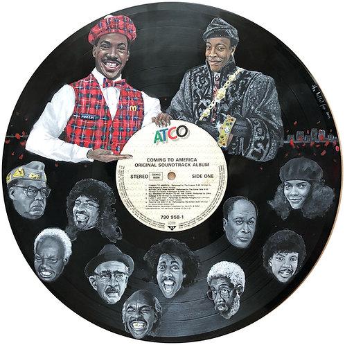 Coming to America - Vinyl Art