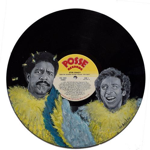 Stir Crazy - Vinyl Art