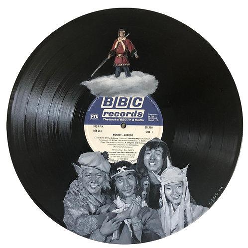 Monkey - Vinyl Art