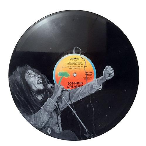 Bob Marley - Vinyl Art