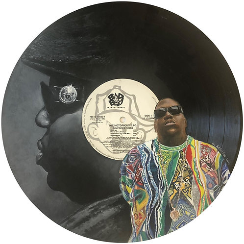 The Notorious B.I.G - Big Poppa - Vinyl Art