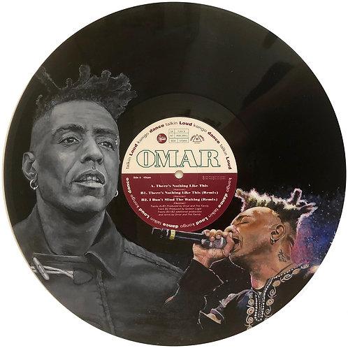 Omar - Vinyl Art