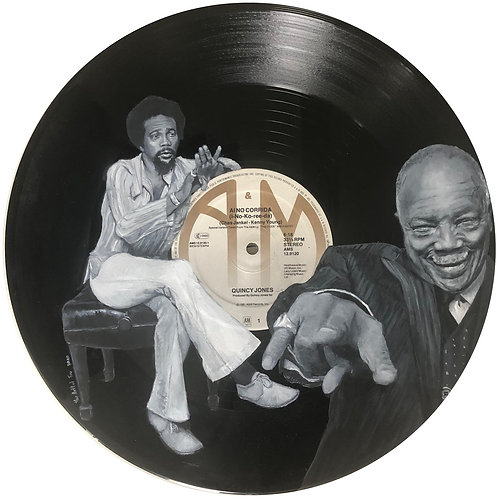 Quincy Jones - Vinyl Art
