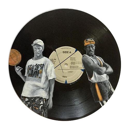 White Men Can't Jump - Vinyl Art