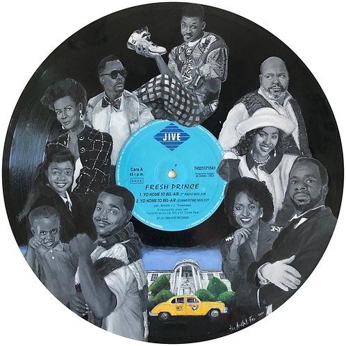 Fresh Prince - Vinyl Art