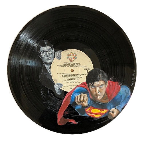 Superman - Vinyl Art