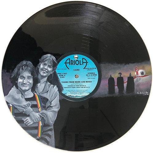 Mork And Mindy - Vinyl Art