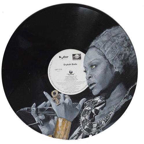 Erykah Badu - Vinyl Art