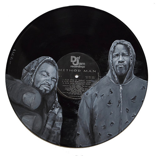 Method Man and Luke Cage - Vinyl Art