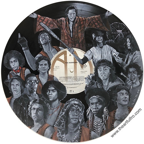 The Warriors - Vinyl Art