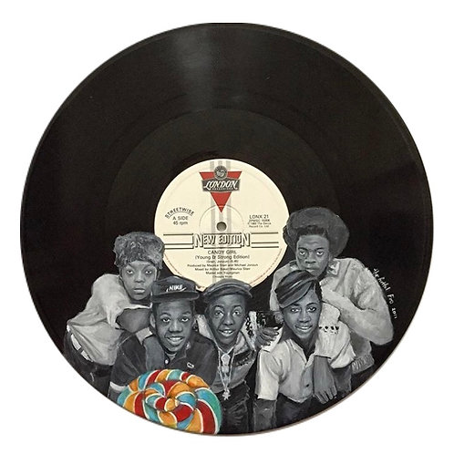 New Edition - Vinyl Art