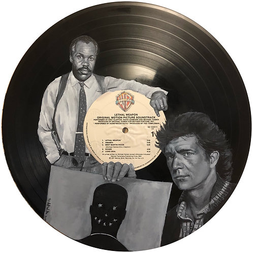 Lethal Weapon  - Vinyl Art