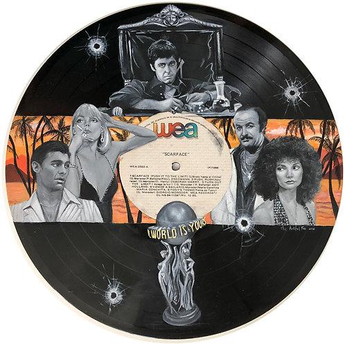 Scarface - Vinyl Art
