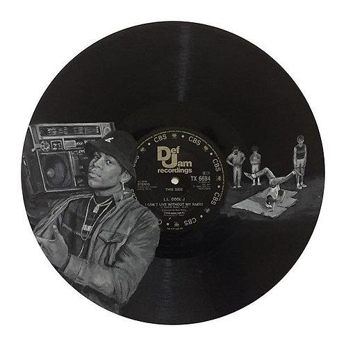 LL Cool J - Vinyl Art