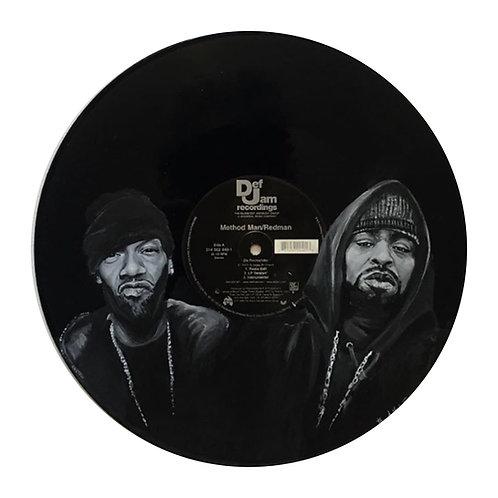 Method Man and Redman - Vinyl Art