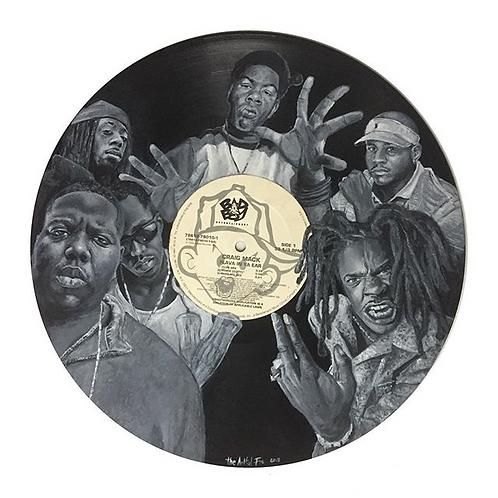 Craig Mack - Vinyl Art