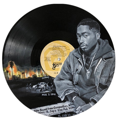 2Pac - 2pacalypse Now - Vinyl Art