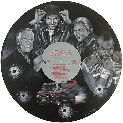 The A-Team - Vinyl Art