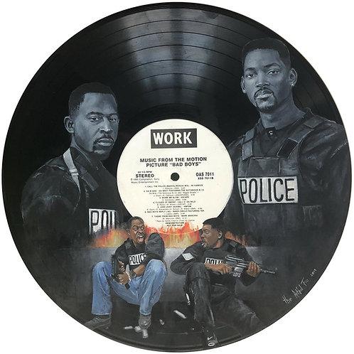 Bad Boys - Vinyl Art