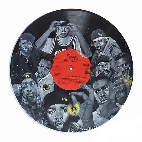Wu-Tang Clan – Vinyl Art