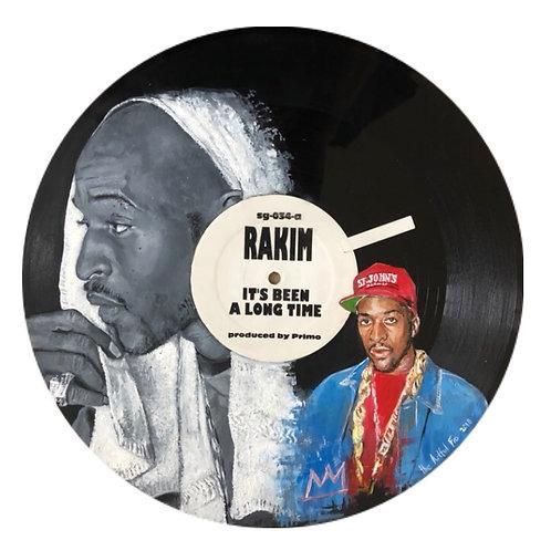 Rakim - Vinyl Art