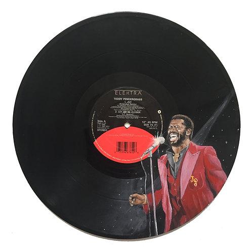 Teddy Pendergrass - Vinyl Art