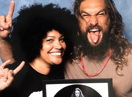 Rocking out with Jason Momoa...