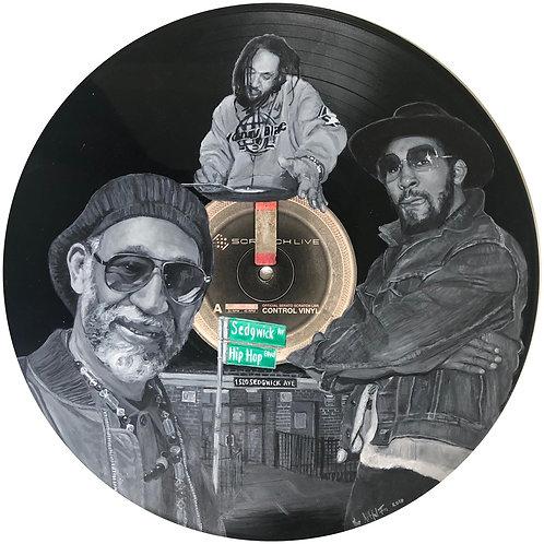 DJ Kool Herc - Vinyl Art