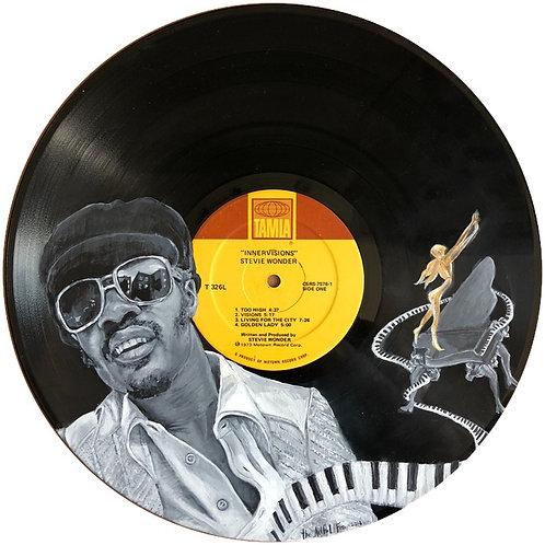 Stevie Wonder - Innervisions - Vinyl Art