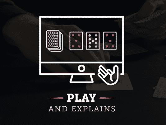 Play and Explains educap0ker
