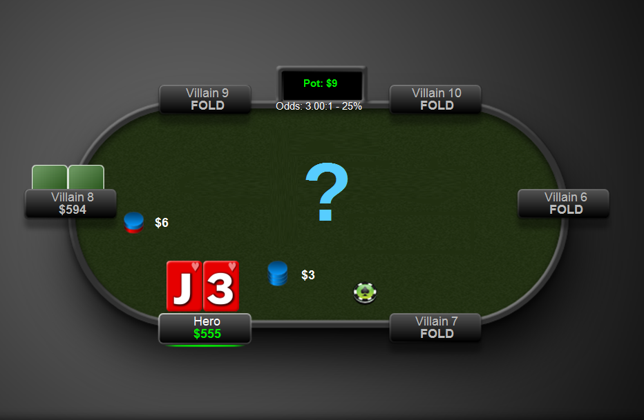 Limping in the Small Blind Total Online Poker