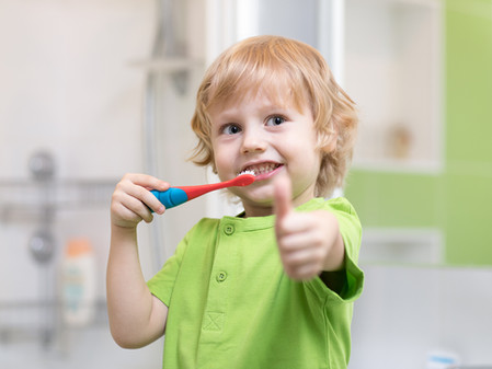 Ten tips for parents to help build healthy oral habits for their children