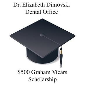 Dr. Elizabeth Dimovski's Graham Vicars Scholarship 2017