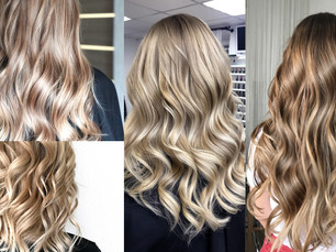 Recreate the natural highlights with Balayage at Hollywood Hair Creative Flare