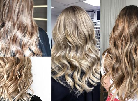 Recreate the natural highlights with Balayage at Hollywood Hair Creative Flare