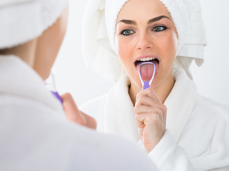 The Importance of Using a Tongue Scraper