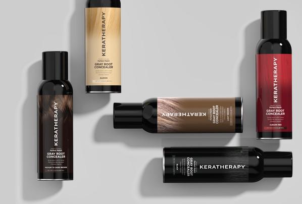 KERATIN INFUSED PERFECT MATCH, Gray Hair, Brampton Hair Salon,