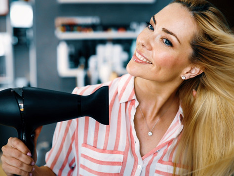 Blow Drying Hair Tips