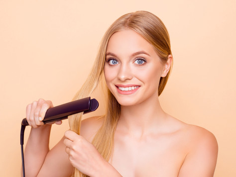 Straightening Or Curling Should Be Done On Dry Hair