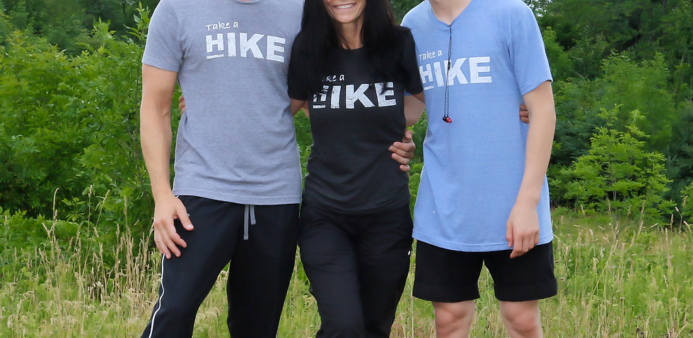 """Take a Hike"" Tri-Blend T-Shirt"