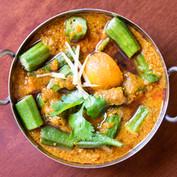 Red Lentil & Okra Curry