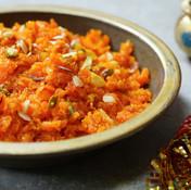 Carrot & Almond Halva