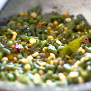 Green Beans with Channa Dhal