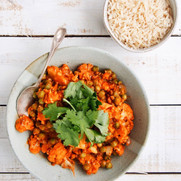 Peas and Cauliflower Korma