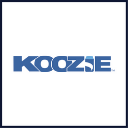 koozie logo