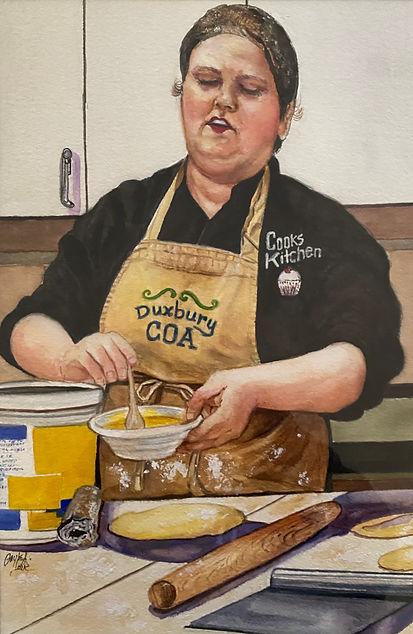 The Baker-Third-Watercolor-Gayle A. Loik