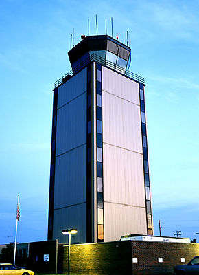 Spirit of St. Louis Airport Controll Tower